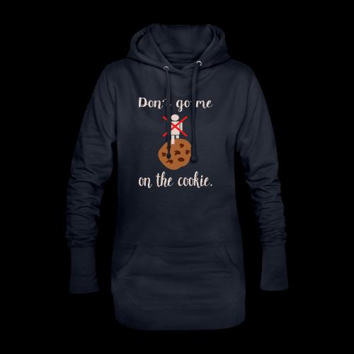 Genervt auf Denglisch Hoodie-Kleid - Hoodie-Kleid