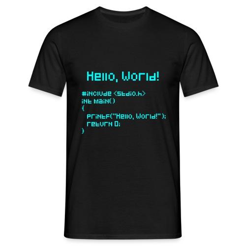 Hello World - Men's T-Shirt