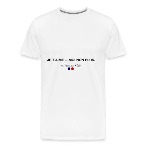 JE T'AIME - Homme - T-shirt Premium Homme