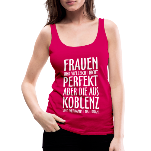 Frauen aus Koblenz Tank Top - Frauen Premium Tank Top