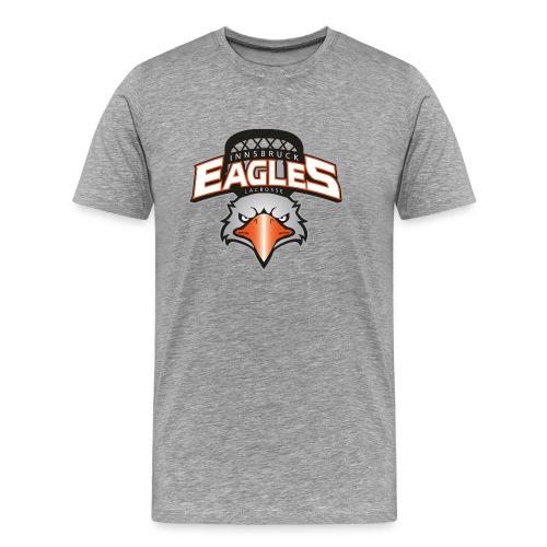 T-Shirt für Laxer, grau - Männer Premium T-Shirt