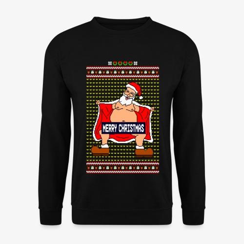 Männer Pullover Merry Christmas Ugly Fun - Männer Pullover