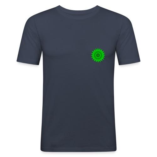 Saubere naürliche Energie - Männer Slim Fit T-Shirt
