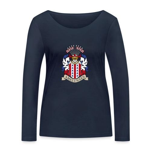 Langarm Wappen (Name) - Frauen Bio-Langarmshirt von Stanley & Stella
