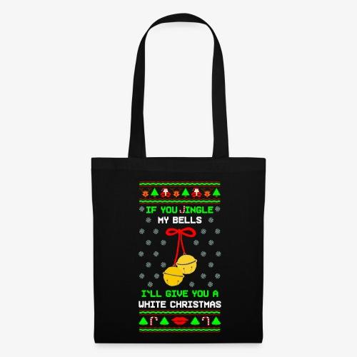 Stoffbeutel Jingle my Bells Ugly Xmas - Stoffbeutel
