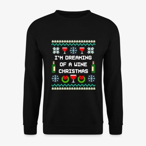 Männer Pullover Wine Christmas Ugly Sweater - Männer Pullover