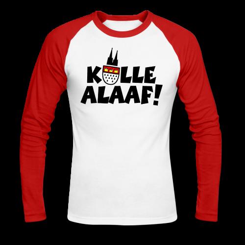 Kölle Alaaf Karneval in Köln Langarmshirt - Männer Baseballshirt langarm