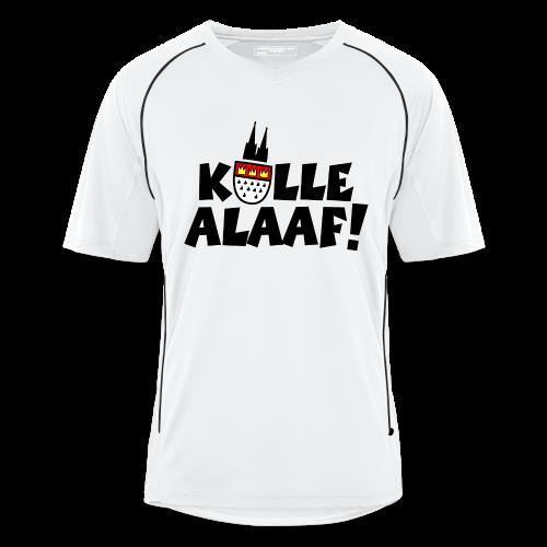 Kölle Alaaf Karneval in Köln Fußball T-Shirt - Männer Fußball-Trikot