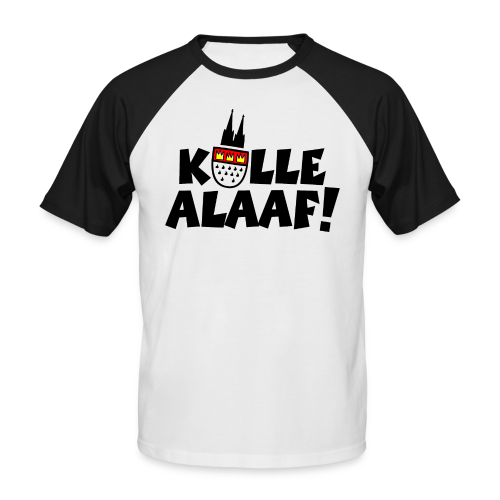 Kölle Alaaf Karneval in Köln Baseball T-Shirt - Männer Baseball-T-Shirt