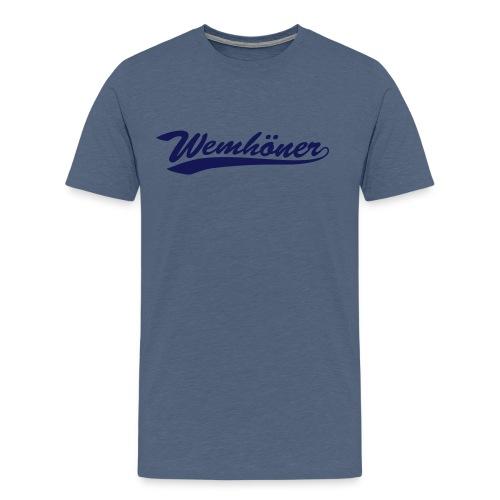 ny wemhoner tea 1 - Men's Premium T-Shirt