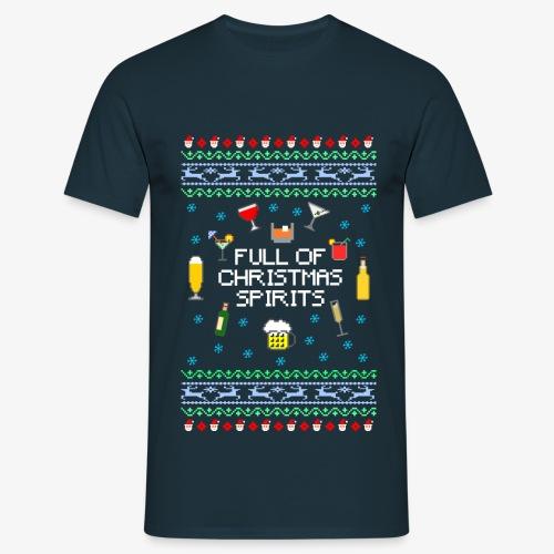 Männer  T-Shirt Xmas Spirits Ugly Sweater - Männer T-Shirt