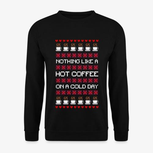 Männer Pullover Cold das Coffee Ugly Christmas - Männer Pullover