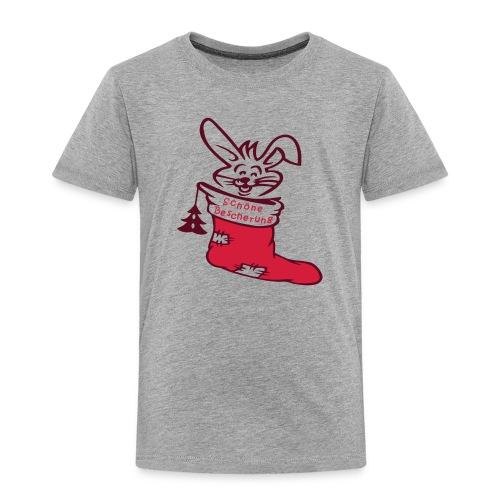Weihnachtsstiefel - Kinder Premium T-Shirt
