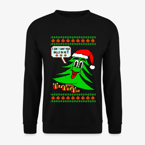 Männer Pullover Balls Ugly Christmas - Männer Pullover