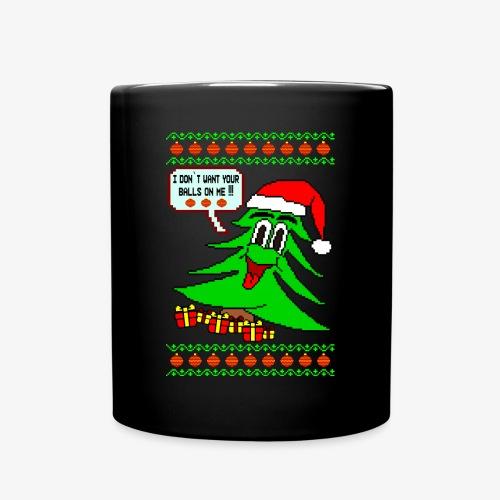 Tasse Balls Ugly Christmas - Tasse einfarbig
