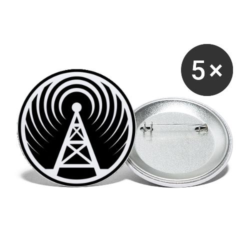 THE HARDEST BUTTON TO BUTTON - Buttons mittel 32 mm (5er Pack)