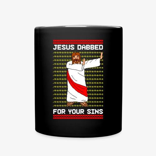 Tasse Jesus Dabbed Ugly Xmas - Tasse einfarbig