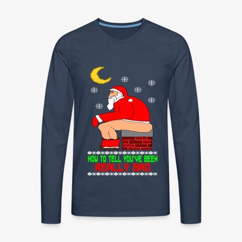 Männer Premium Langarmshirt Really Bad Ugly Christmas - Männer Premium Langarmshirt