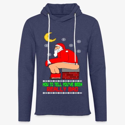Leichtes Kapuzensweatshirt Unisex Really Bad Ugly Christmas - Leichtes Kapuzensweatshirt Unisex