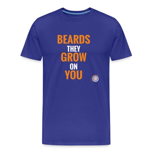 Mannen Premium T-shirt - dutchbeards,beards,beard,baarden,baard