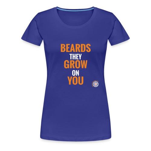 Vrouwen Premium T-shirt - dutchbeards,beards,beard,baarden,baard