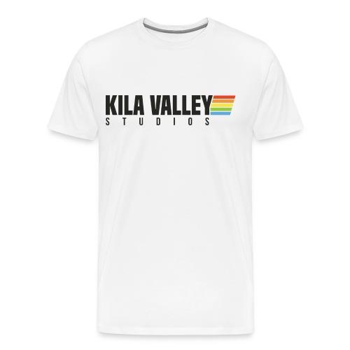 KILA VALLEY RETRO WHITE - Premium-T-shirt herr