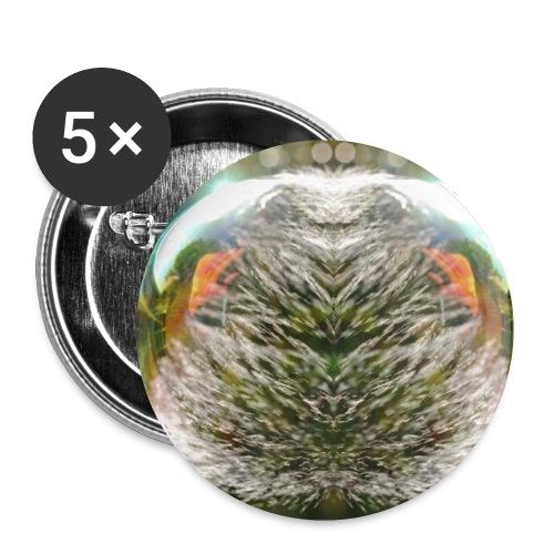 Seifenblasen Designe - Buttons klein 25 mm (5er Pack)