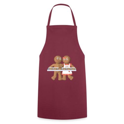 Lebkuchen Paar - Kochschürze