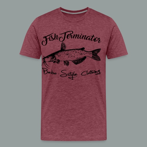FishTerminator - Männer Premium T-Shirt