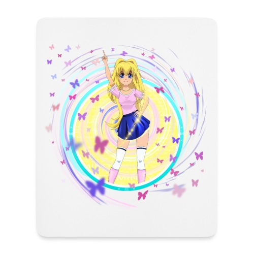 Mindy on a Vertical Mouse Pad. - Mouse Pad (vertical)