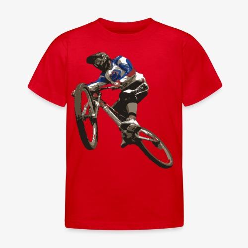 Downhill Mountainbike - Kinder T-Shirt