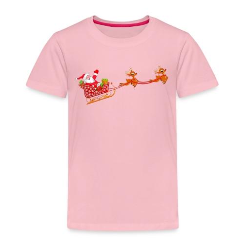 Santa Claus Weihnachten T-Shirts - Kinder Premium T-Shirt