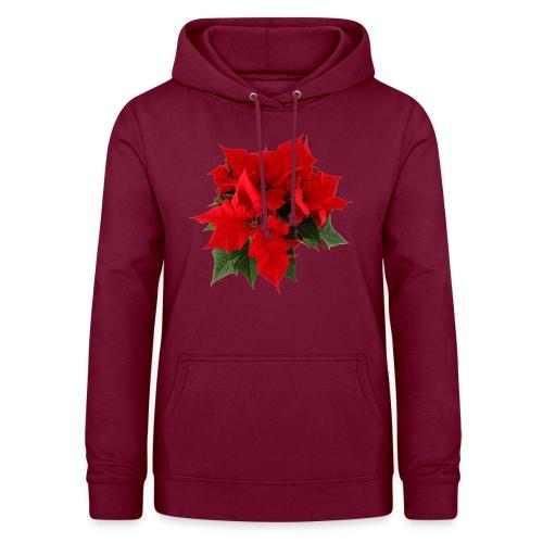 Weihnachtsstern Pullover & Hoodies - Frauen Hoodie