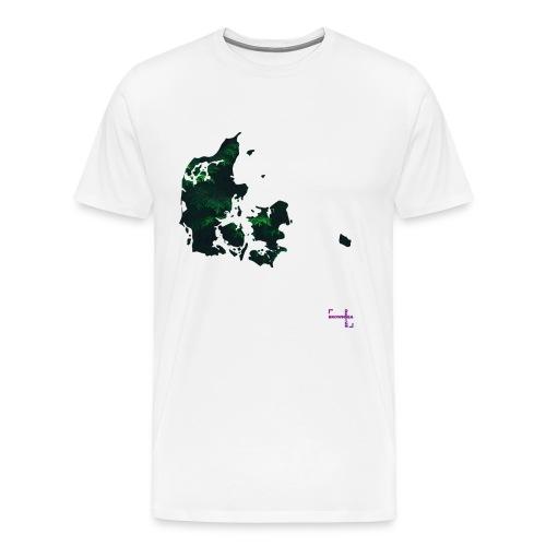 DK Map Ms Tee - Herre premium T-shirt