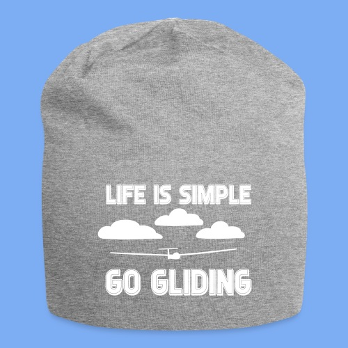 Gliding Passion Leidenschaft Segelflieger Geschenk Segelflugzeug  - Jersey Beanie