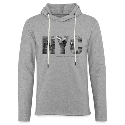 NYC unisex lichte hoodie - Lichte hoodie unisex