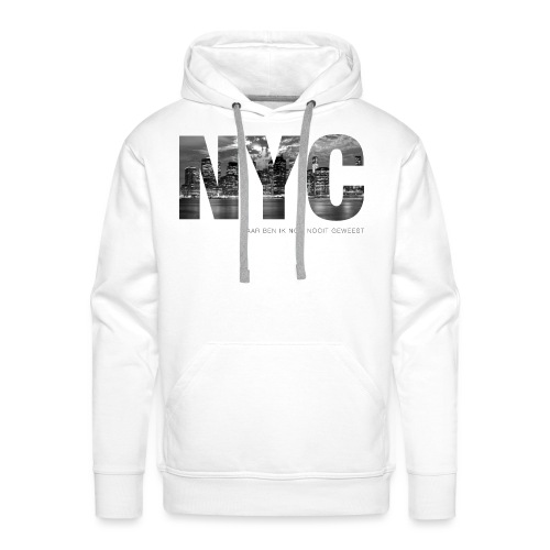NYC mannen premium hoodie - Mannen Premium hoodie
