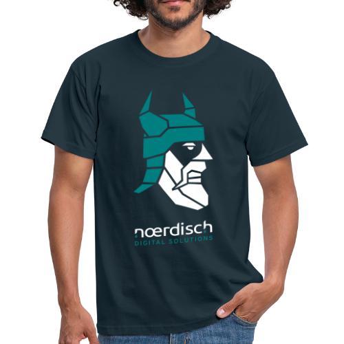 Männer T-Shirt Noerdisch Viking Abstract FRONT - Männer T-Shirt
