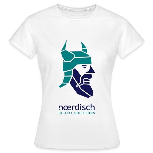 Frauen T-Shirt Noerdisch Viking Abstract FRONT Light - Frauen T-Shirt