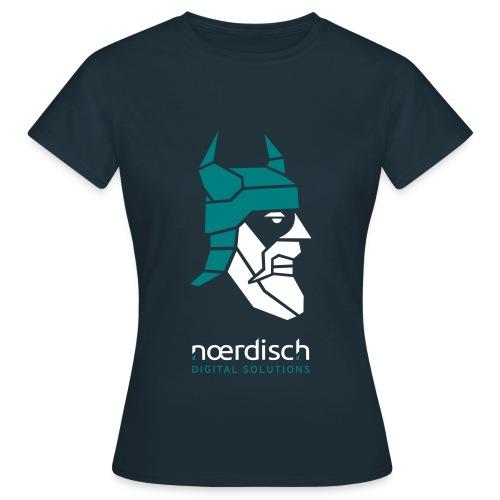 Frauen T-Shirt Noerdisch Viking Abstract FRONT - Frauen T-Shirt