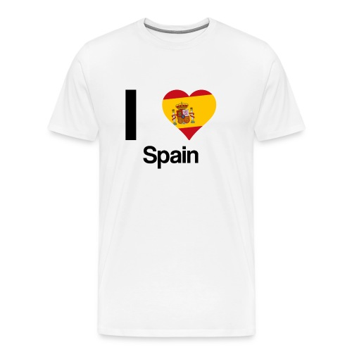 I Love Spain   Männer Shirt - Men's Premium T-Shirt
