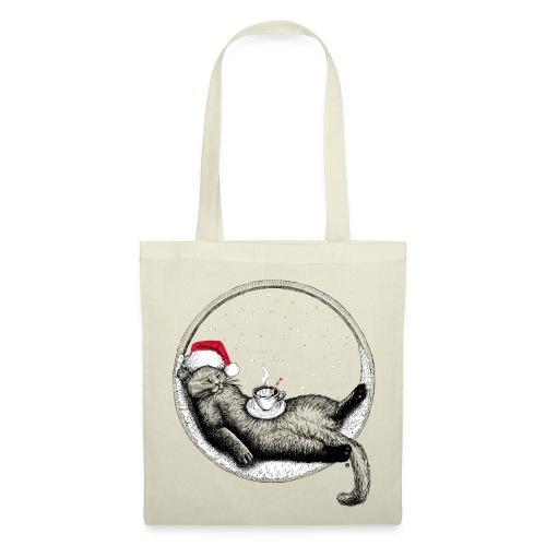Christmas Cat - Tote Bag