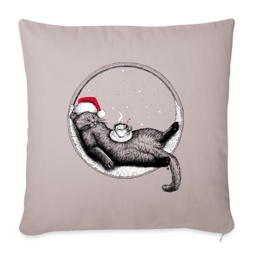 Christmas Cat - Sofa pillow cover 44 x 44 cm