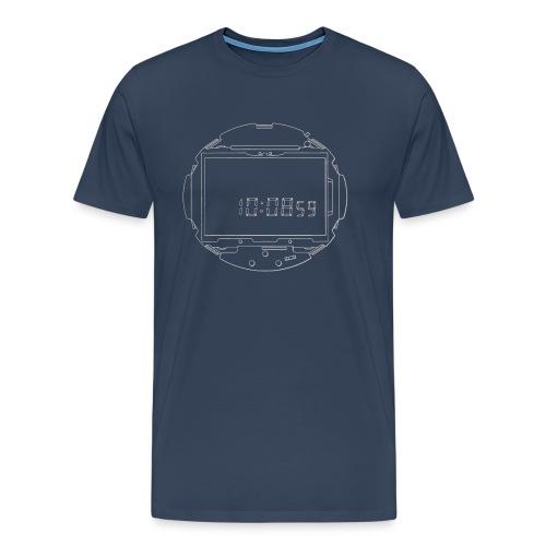 LCD Watch Module - Men's Premium T-Shirt