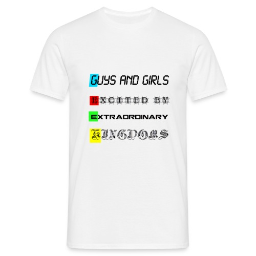 GEEK acronym - T-shirt Homme