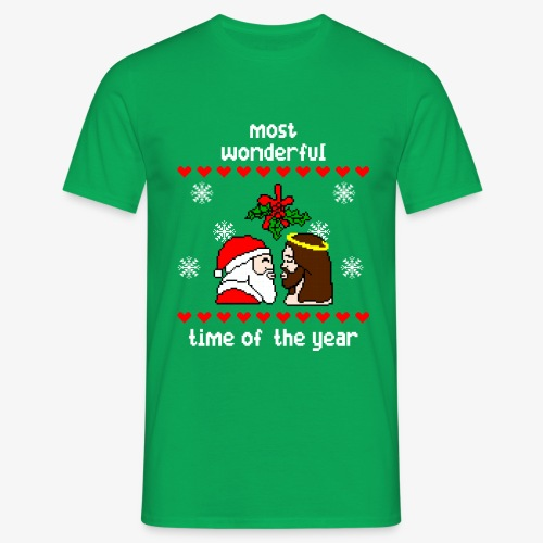 Männer T-Shirt most wonderful time in the year ugly Xmas - Männer T-Shirt