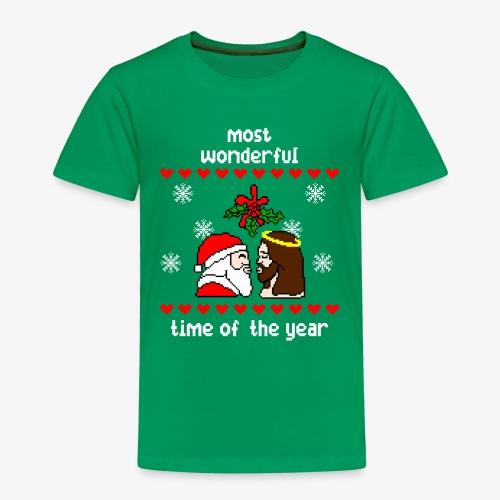 Kinder Premium T-Shirt most wonderful time in the year ugly Xmas - Kinder Premium T-Shirt