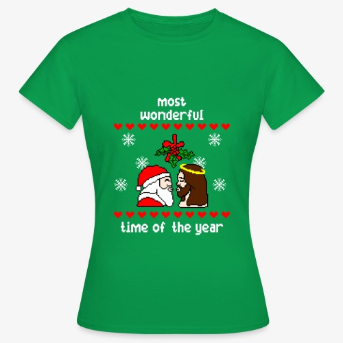 Frauen T-Shirt most wonderful time in the year ugly Xmas - Frauen T-Shirt