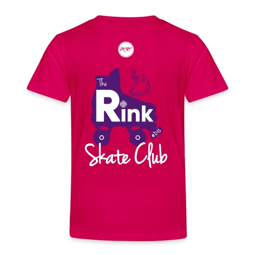 Kids The Rink @D12 Skate Club (Pink) - Kids' Premium T-Shirt