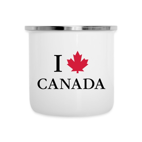 Kanada Ahorn Vancouver Montreal Toronto Maple Leaf - Emaille-Tasse